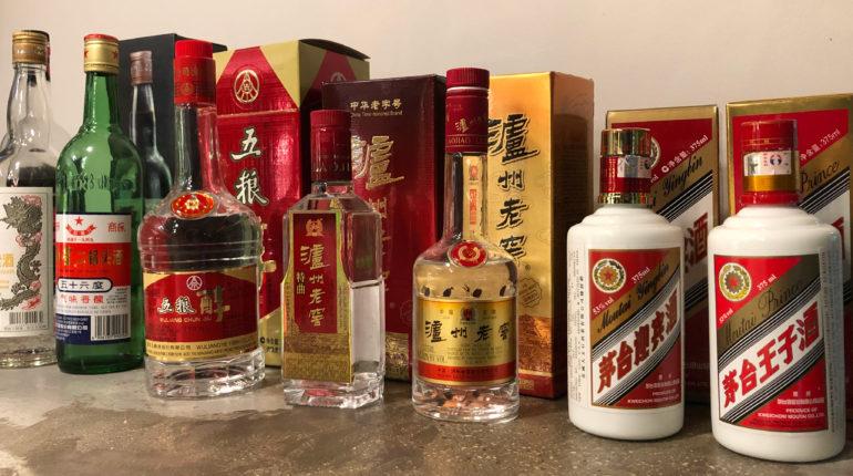 Many types of baijiu